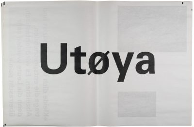 Utøya, 77, research project, University of Applied Sciences Düsseldorf, image and text