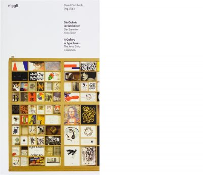 A Gallery in Type Cases – The Arno Stolz Collection, niggli, 2018, Cover, David Fischbach
