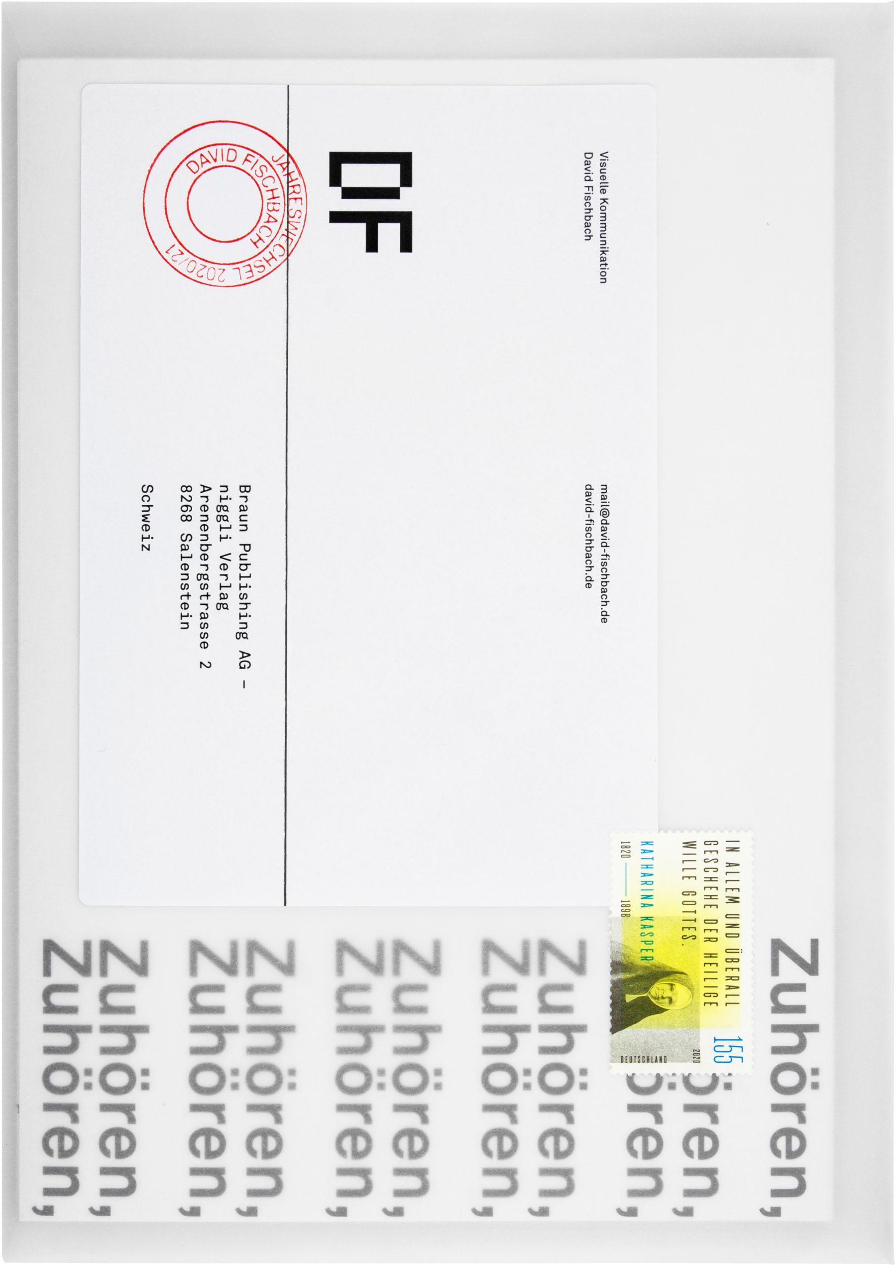 Turn of the year 2020/21, Ohne Titel, Poster, Christian Jendreiko, David Fischbach
